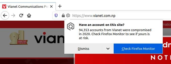 vianet breach